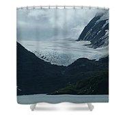 A Glacier Receding - II Shower Curtain