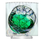 A Glass Of Bubbly Shower Curtain