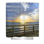 A Glorious Moment Shower Curtain