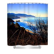 A Gorgeous Morning On The Pacific Shower Curtain