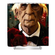 A Gothic Tale Shower Curtain