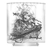 A Great Musician Shower Curtain