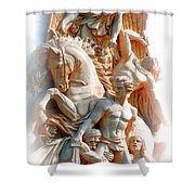 A Hero's Life Shower Curtain