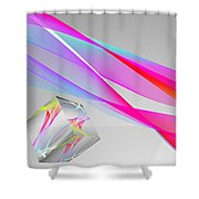 A Higher Place 1 Shower Curtain