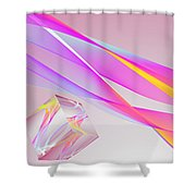 A Higher Place 2 Shower Curtain
