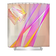 A Higher Place 3 Shower Curtain