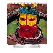 A Huli Man Shower Curtain