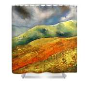 A Journey To The Unknown Shower Curtain