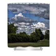 A July Cold Front Rolling By Shower Curtain