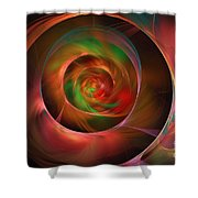A Kind Of Inner Opalescence Shower Curtain