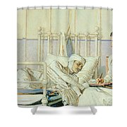 A Letter To Mother Shower Curtain
