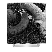 A Life Come And Gone Shower Curtain