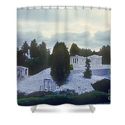 A Little Bit Of Athens Shower Curtain