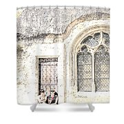 A Little Rest With Scenic View Shower Curtain