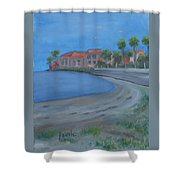 A Loews Low Tide Shower Curtain