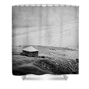 A Lone House Shower Curtain