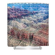 A Look Into The Grand Canyon  Shower Curtain