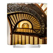 A Look Up The Stairs Shower Curtain