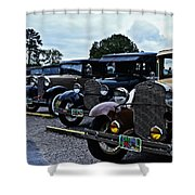A Lot Of Classic Cars Shower Curtain
