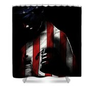 A Love Called Liberty Shower Curtain