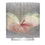 A Love Letter Shower Curtain