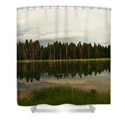 A Lovely Reflection Shower Curtain