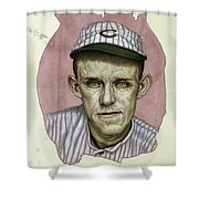 A Man Who Used To Be A Player Shower Curtain by James W Johnson
