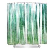 A Matter Of Blues Shower Curtain