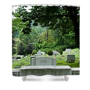 A Matter Of Life And Death Shower Curtain