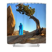 A Matter Of Time 1 Shower Curtain