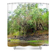A Matter Of Time Shower Curtain