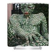 A Maze Ing Man 1 Shower Curtain
