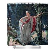 A Midsummer Nights Dream Hermia Shower Curtain