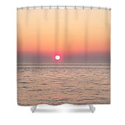 A Minute To Sunset Shower Curtain
