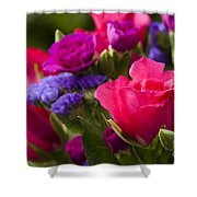 A Mixed Bouquet Shower Curtain