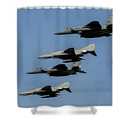 A Mixed Formation Of U.s. Air Force Shower Curtain