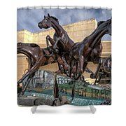 A Monument To Freedom Shower Curtain