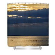 A Moray Firth Sunset Shower Curtain