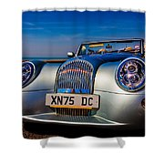 A Morgan By The Sea Shower Curtain