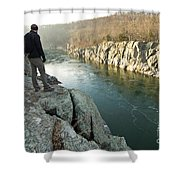 A Morning At Mathers Gorge Shower Curtain