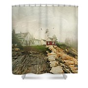 A Morning In Maine Shower Curtain