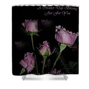 A Mother Day Blessing Shower Curtain