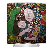 A Mother's Lullaby Shower Curtain