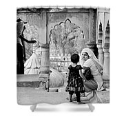 A Mother's Moment Shower Curtain