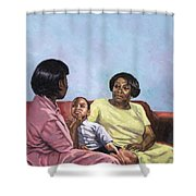 A Mothers Strength Shower Curtain