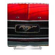 A Mustang  Shower Curtain