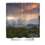 A Mystic Morning  Shower Curtain