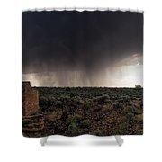 A Navajo 'male' Rain Shower Curtain