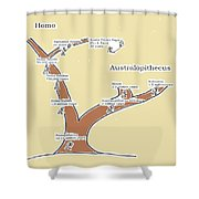 A New Branch Shower Curtain