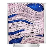 A New Creation Shower Curtain